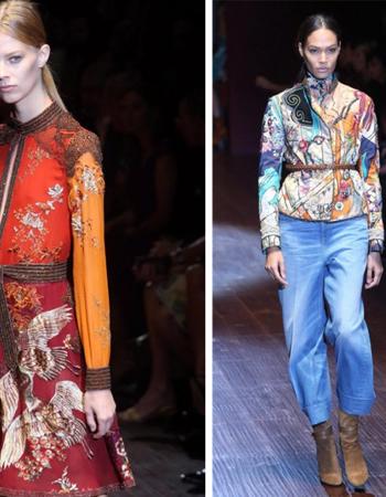 Коллекция Gucci для сезона весна /лето 2017