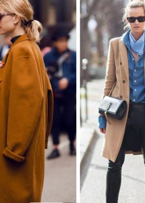 бежевые пальто