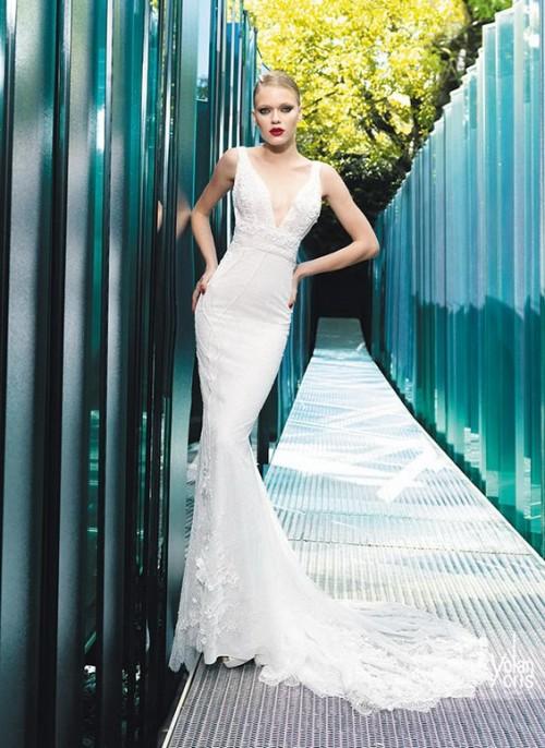 узкое винтажное свадебное платье