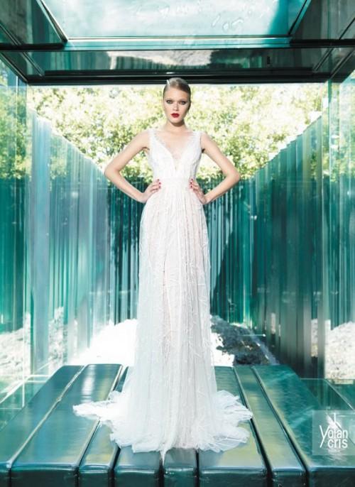прямое винтажное свадебное платье
