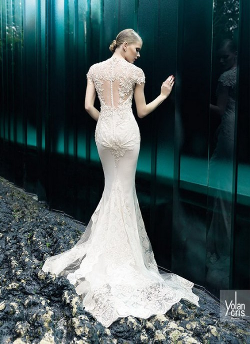 ажурное винтажное свадебное платье