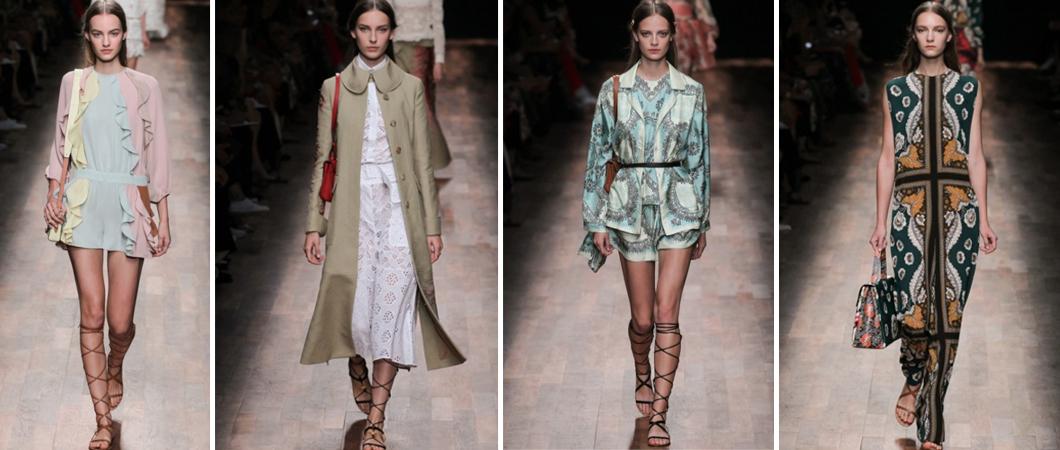 Коллекция одежды Valentino — путешествие по  Европе