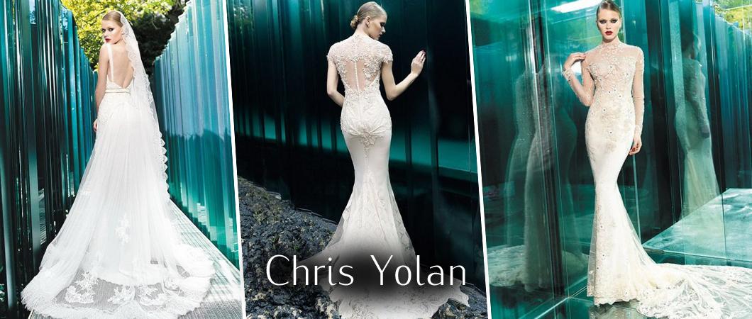 73da13d5bb7 Винтажные свадебные платья  коллекция платьев Cris Yolan