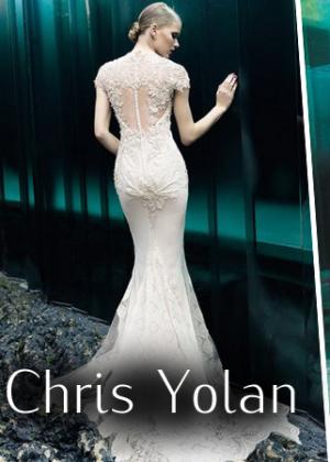 свадебные платья от Chris Yolan