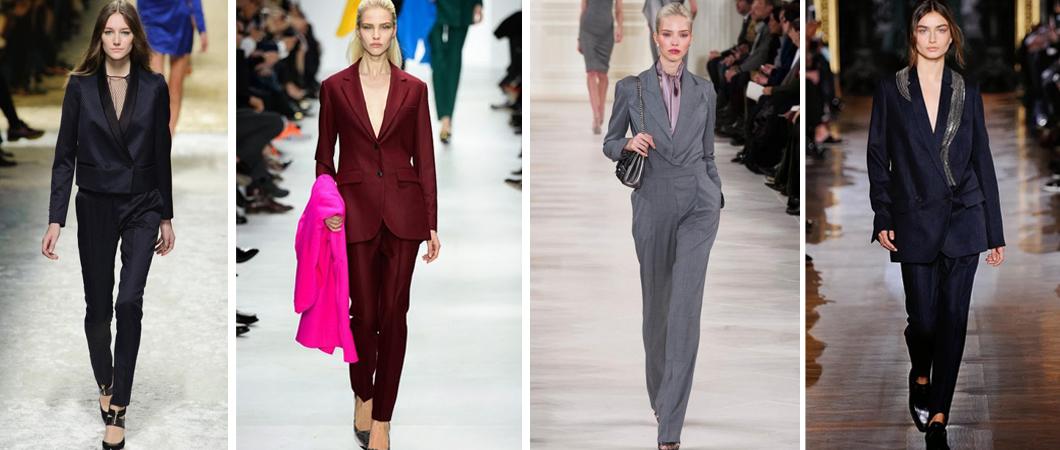 Женские брючные костюмы (офисный стиль 2017)