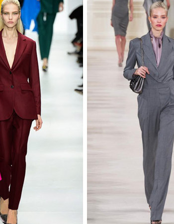 Женские брючные костюмы (офисный стиль 2018)