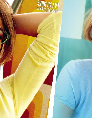 Модные женские оправы Vogue от Евы Мендес