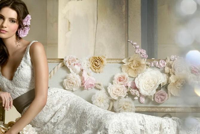 Самые красивые свадебные платья знаменитостей (с фото)