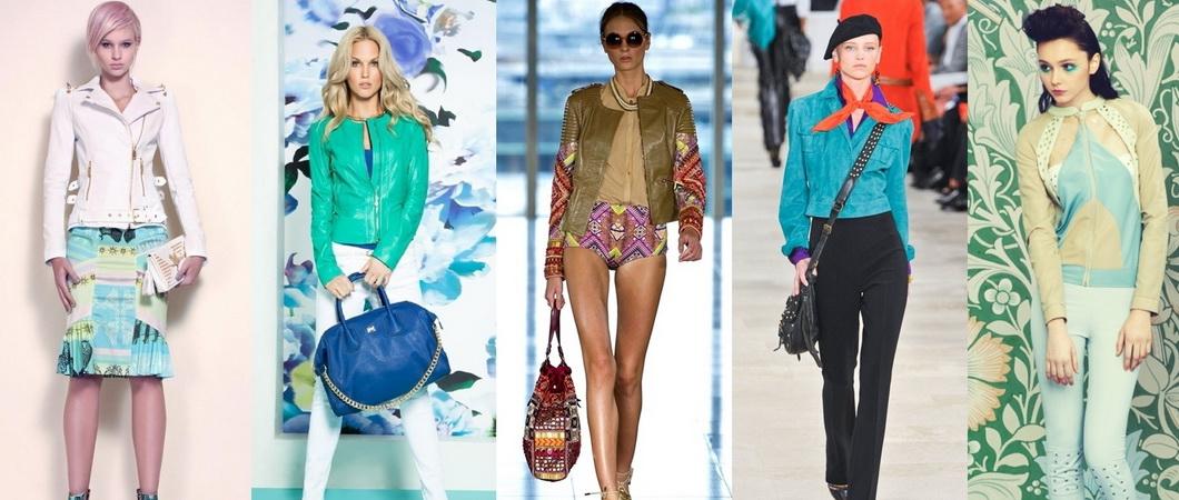 Женские и молодежные кожаные куртки на весну 2020