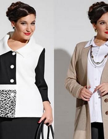 Куртки для полных женщин на зиму и весну 2018