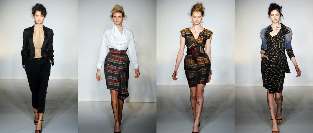 Весенне-летняя коллекция одежды от Вивьен Вествуд