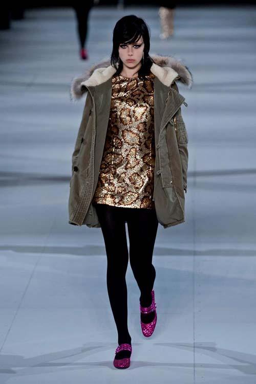 золотой тренд. мода осень зима