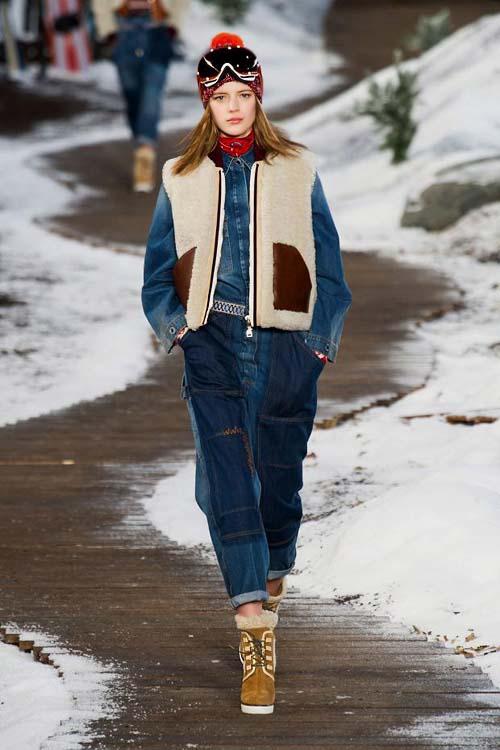 спортивная мода зима 2017