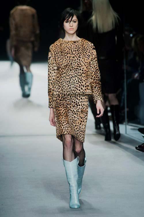 леопард в моде 2017