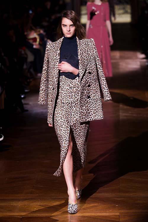 осень -зима. в моде леопард