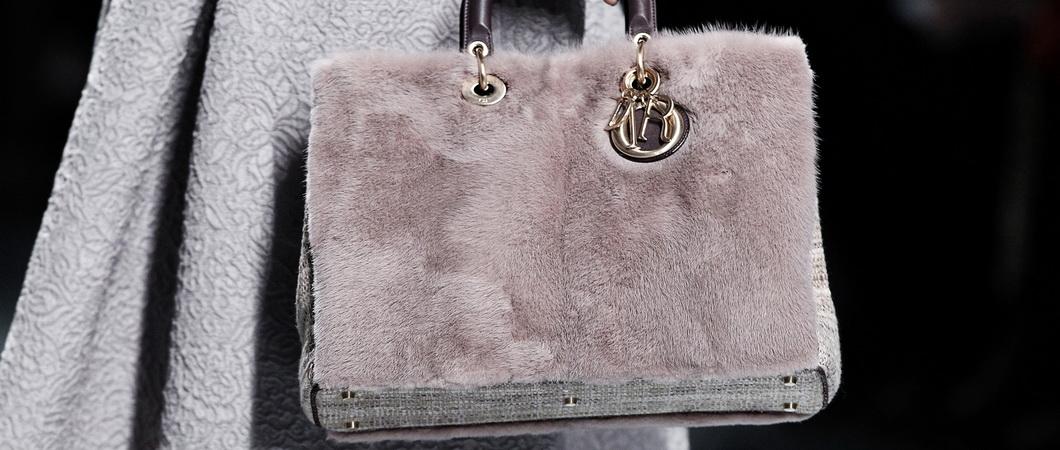 Осенне-зимняя коллекция сумок от Dior
