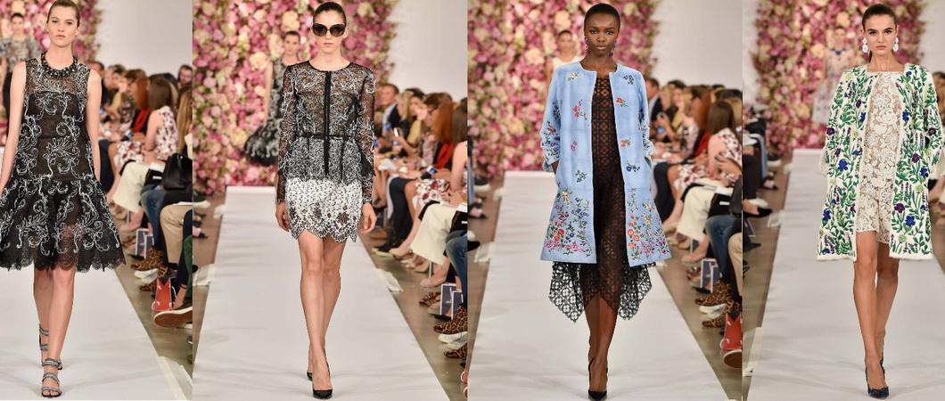 Интересная одежда от Оскара де ла Рента для весны и лета 2019