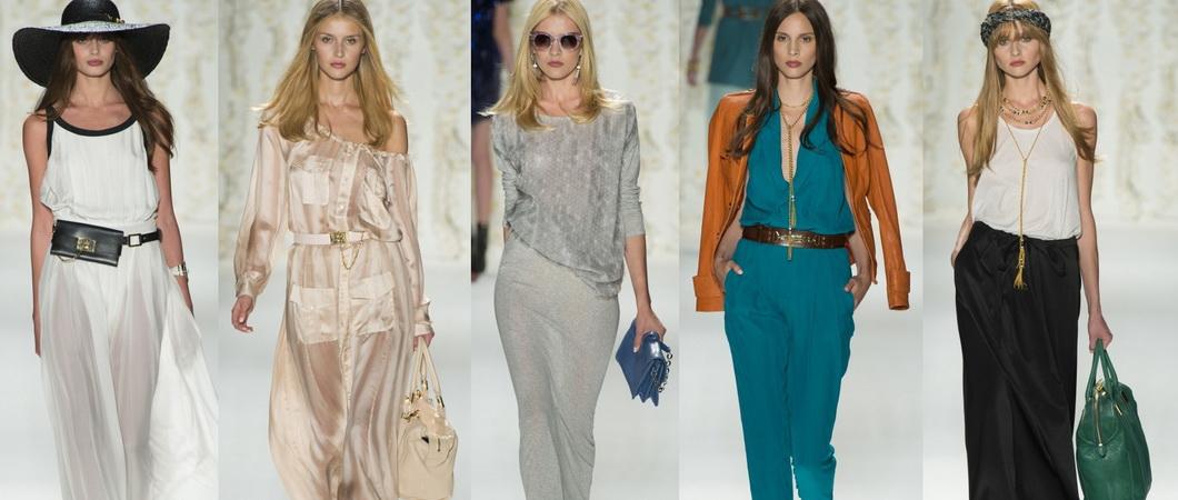 Вечерний стиль модной одежды