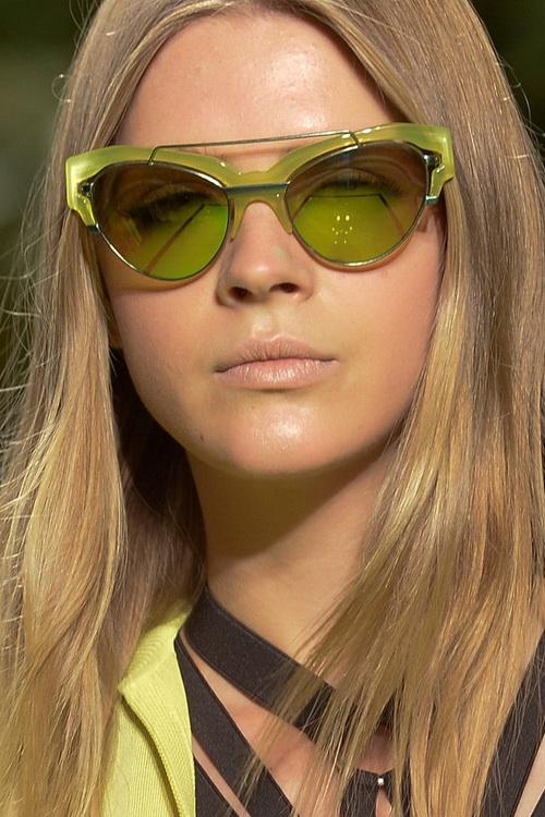 Солнцезащитные очки оправа с цветами