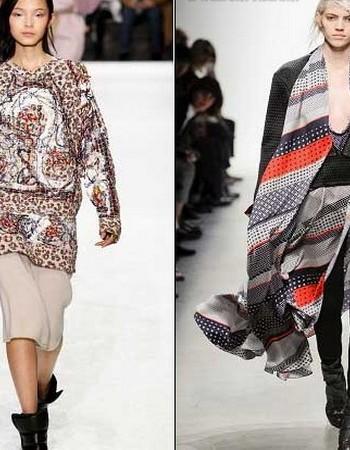 С чем носить тунику-платье и тунику-рубашку