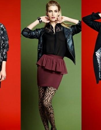Красивая одежда с яркими акцентами