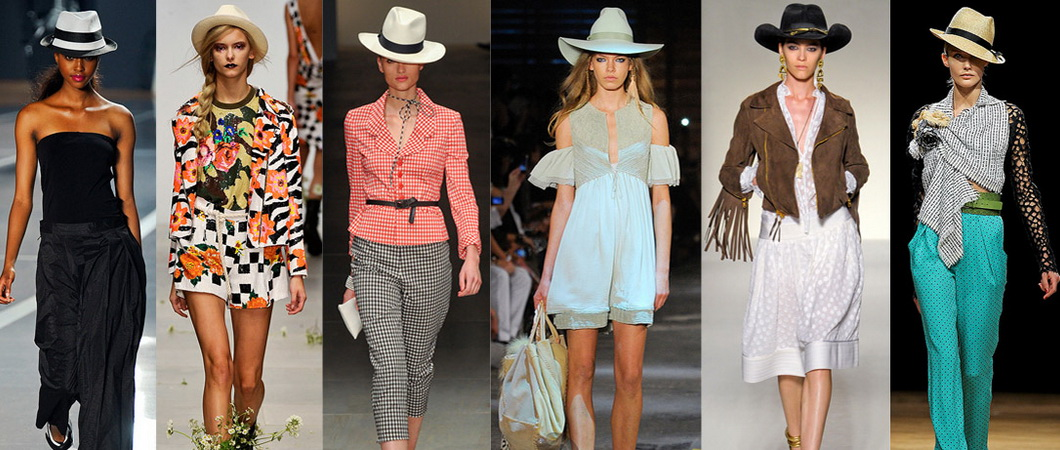Какие бывают шляпы?
