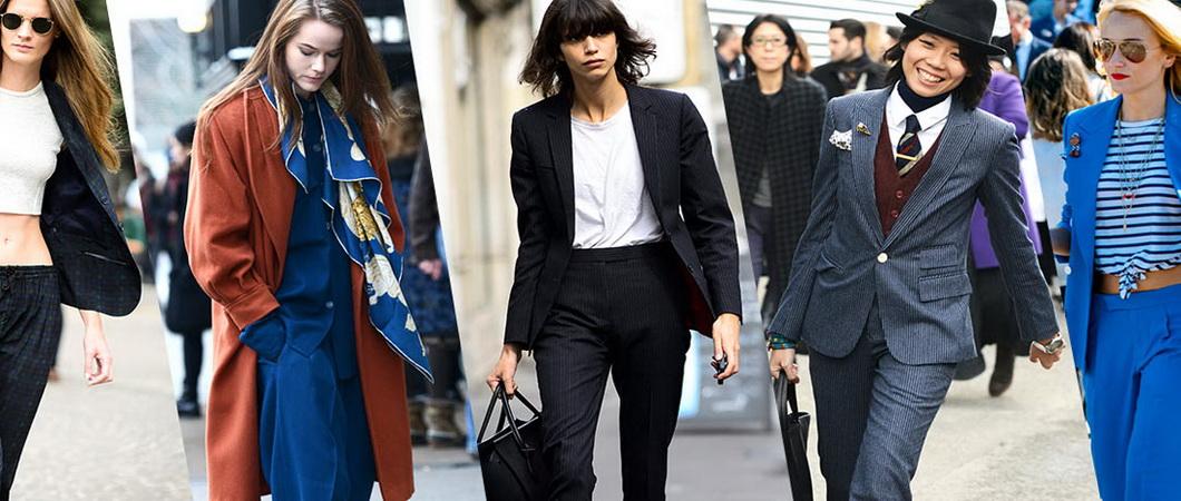 Модные женские брючные костюмы 2019-2020