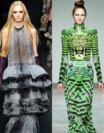 Какие платья подходят худым?
