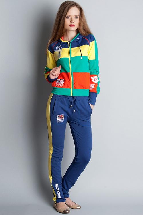 Стильные спортивные костюмы женские 2015