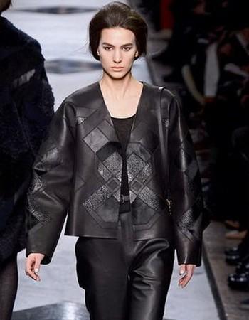 Женские кожаные куртки мировых брендов