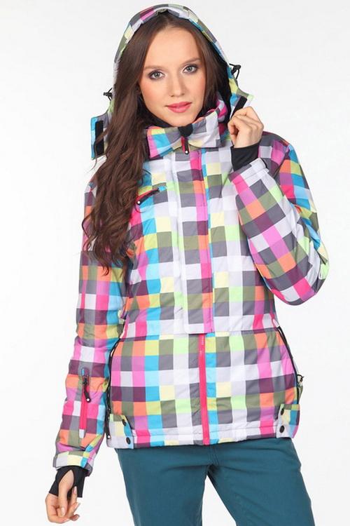Говоря о цветах, нельзя не упомянуть дизайнерский выбор принтов для модных  курток на синтепоне. Осенью 2018 года актуальна «клетка», как классическая  « ... f4462861092