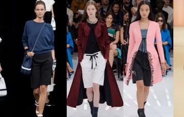 Красивые женские шорты: весенние и летние модели