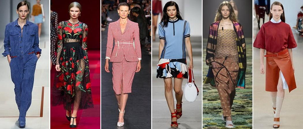 Женская мода сезона весна-лето осень 20