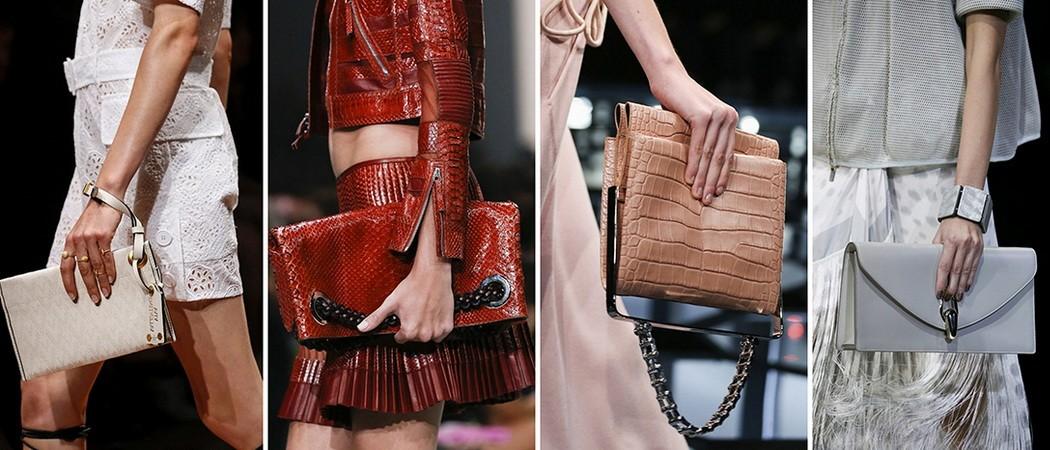 Женские сумки на весну и лето 2018: модные цвета и модели