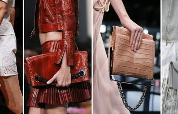 Женские сумки на весну и лето 2016: модные цвета и модели