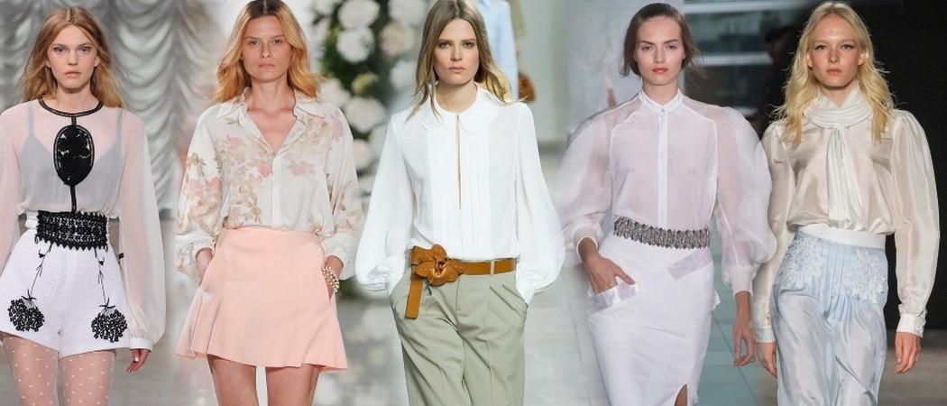 Модные летние блузки-2019