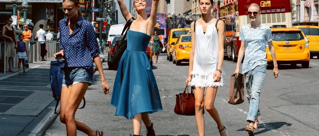 Италия лето мода 2018 фото