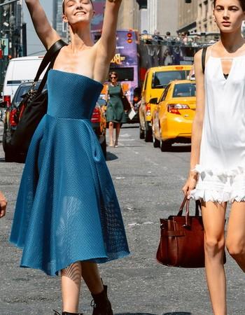 Уличная мода весна-лето и осень-зима 2018 года