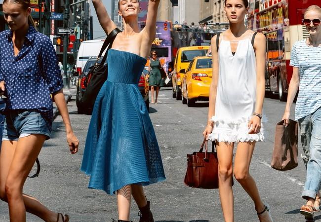 Уличная мода весна-лето и осень-зима 2016 года
