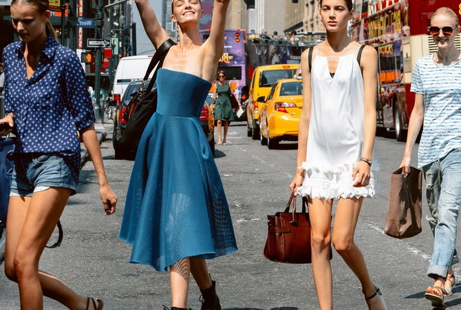 Уличная мода весна-лето и осень-зима 2017 года