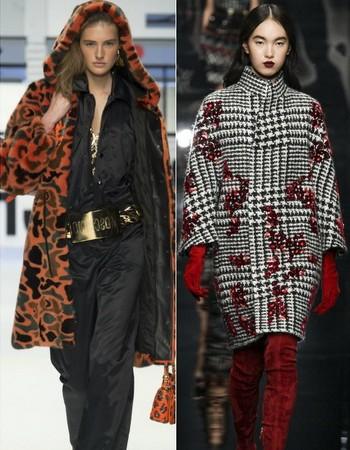 Женские пальто из драпа: красивые модели