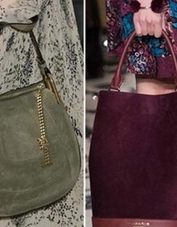 Модные замшевые сумки-2021