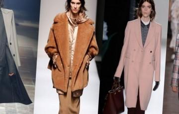 Женские пальто силуэта трапеция