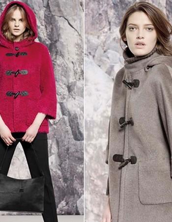 Женское пальто дафлкот -2019