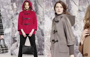 Женское пальто дафлкот -2017