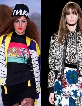 Женские куртки-бомберы 2018 года: модные образы