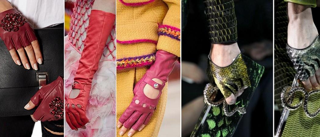 Самые модные женские перчатки 2017-2018