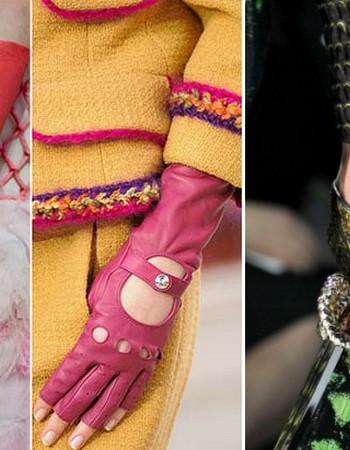Самые модные женские перчатки 2016-2017