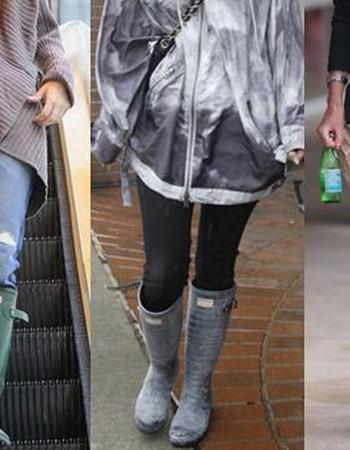 Женские резиновые сапоги-2018: стильные модели