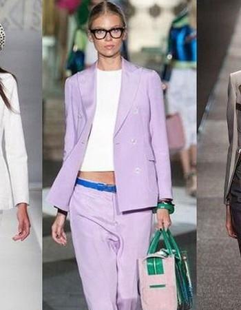 Стильные женские пиджаки 2017 года: модные тенденции